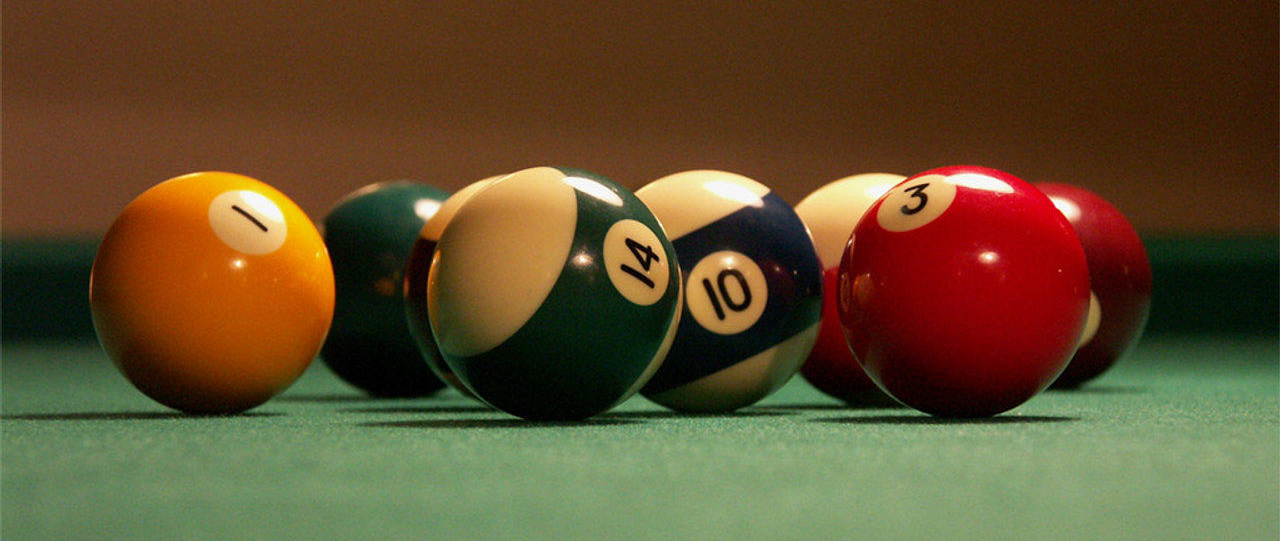 Billiard Balls Crop
