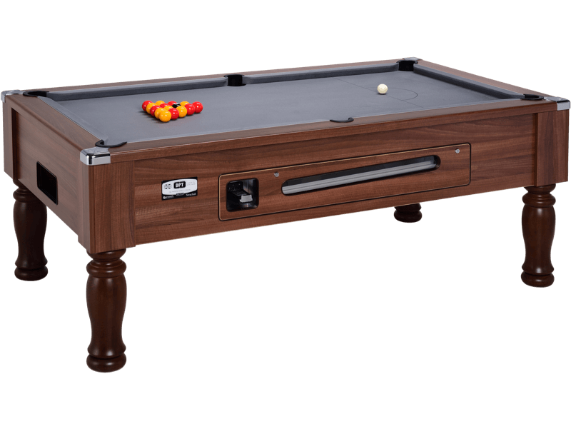 Ascot Coin Operated Pool Table Dpt Tables - How To Mark A 6ft Pool Table