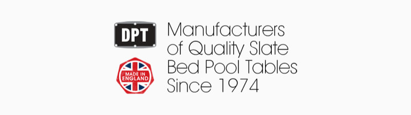 Pool Table manufacturer DPT - Manufacturers of Quality Slate Bed Pool Tables Since 1974