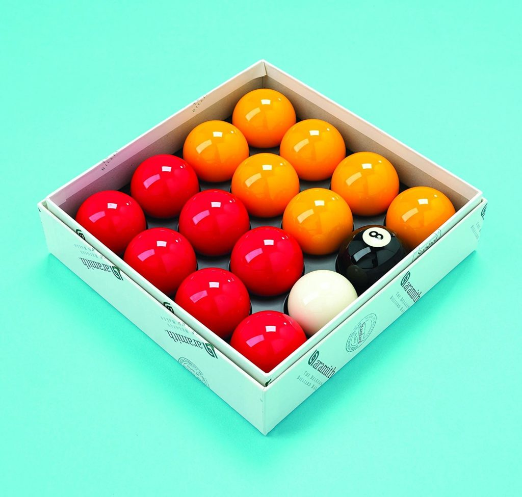 Standard Aramith Balls