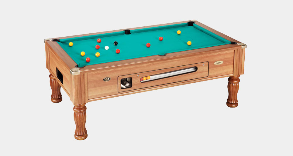 Ascot Coin-Operated Pool Table