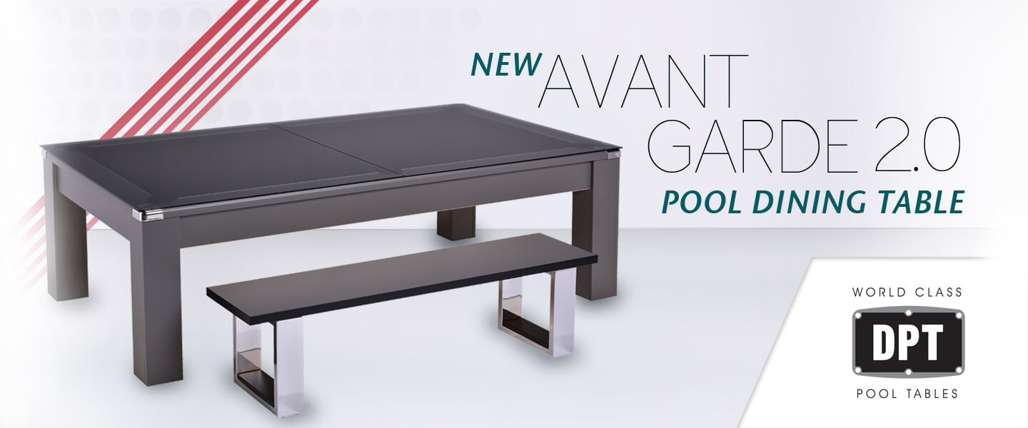 Avant Garde 2.0 Pool Dining Table