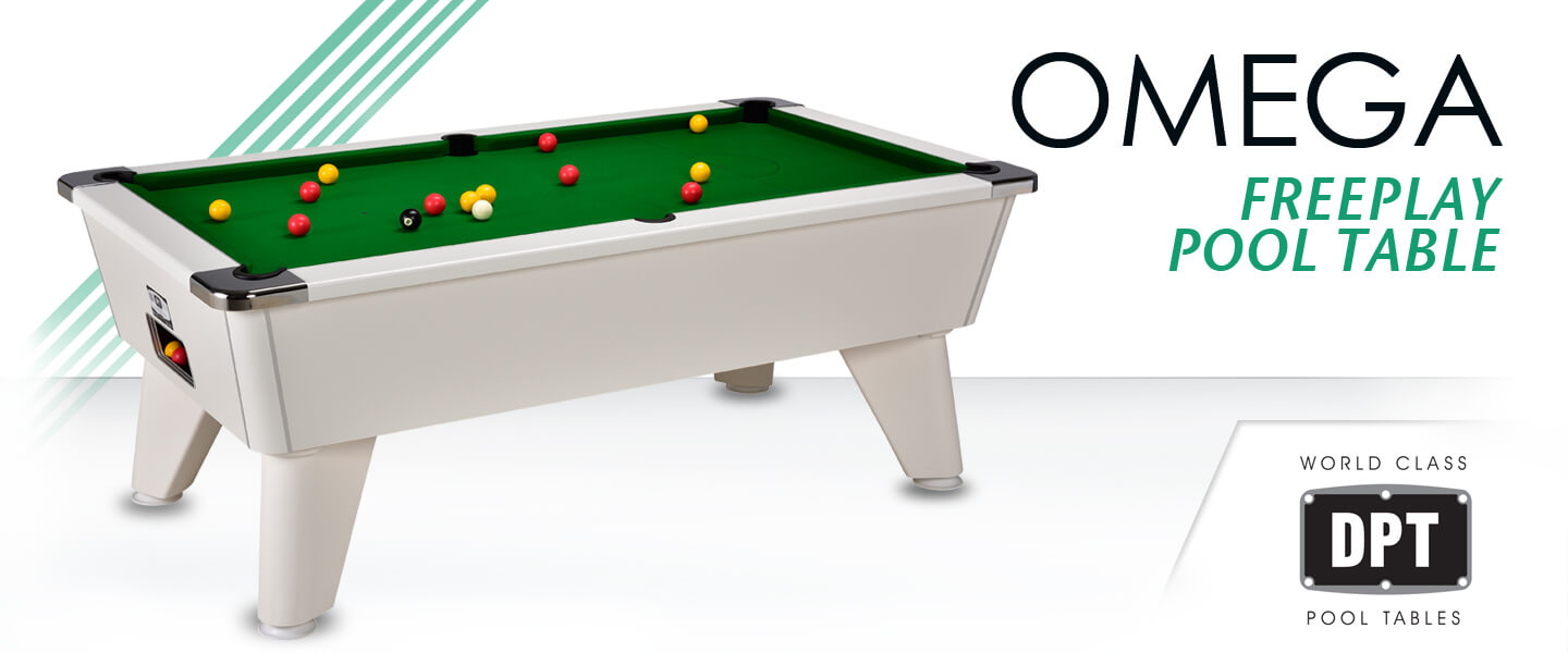 Omega 2.0 Freeplay Pool Table