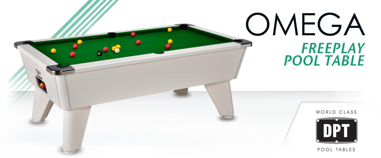 Omega 2.0 Freeplay Pool Table