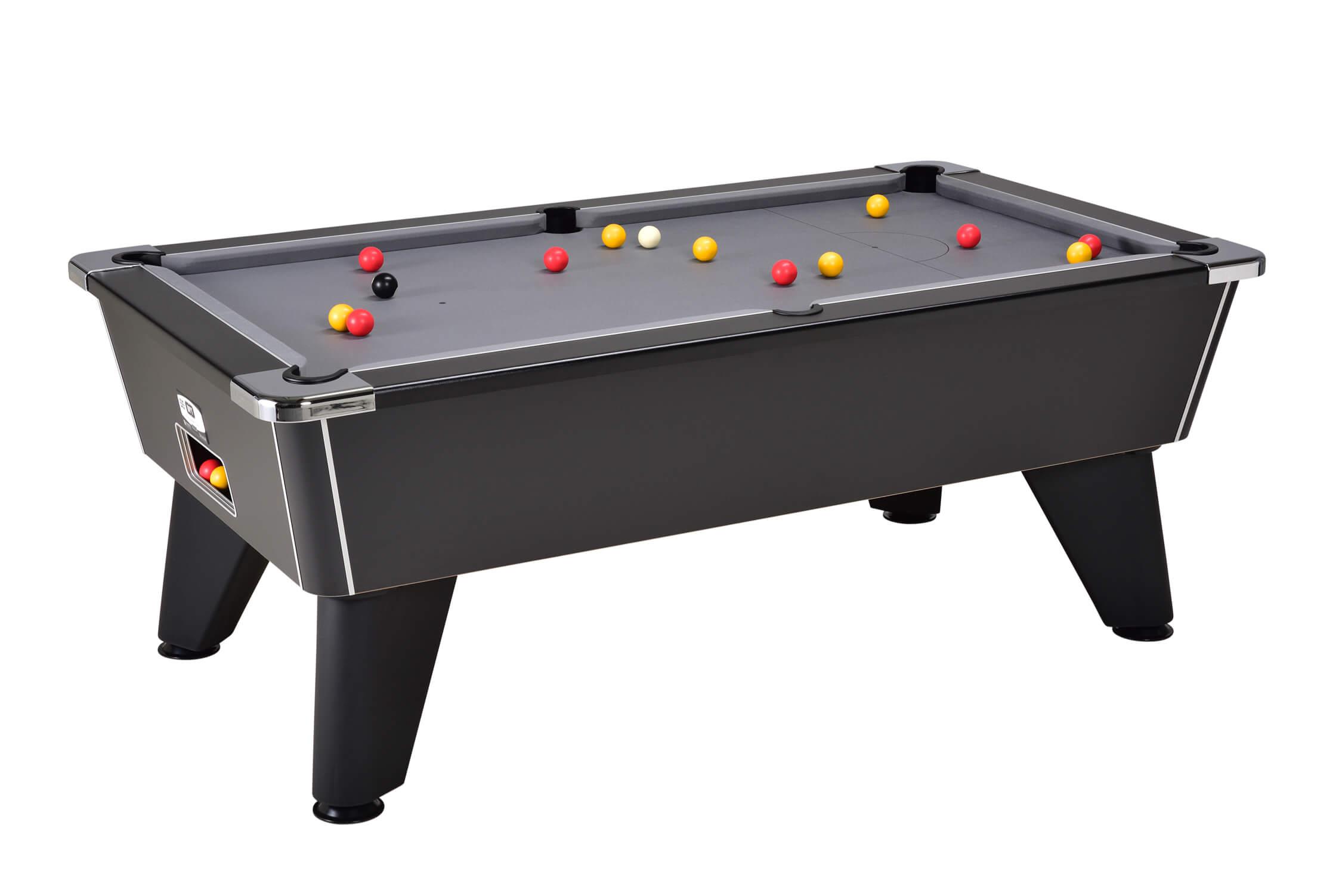 Omega 2.0 Freeplay Pool Table – Black