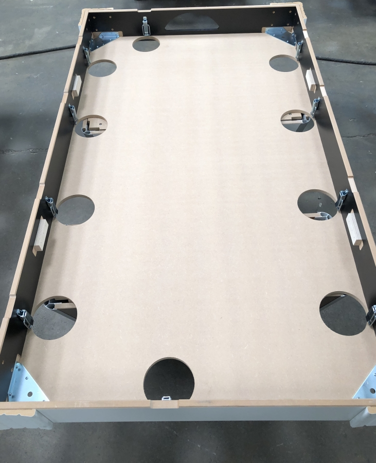 body of the pool table